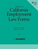 Library of California Employment Law Forms