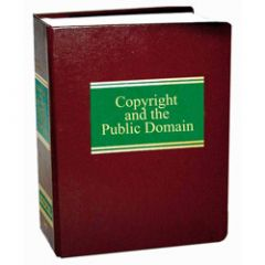 Copyright and the Public Domain