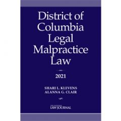 District of Columbia Legal Malpractice Law