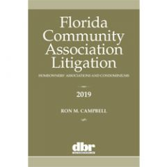 Florida Community Association Litigation: Homeowners' Associations and Condominiums
