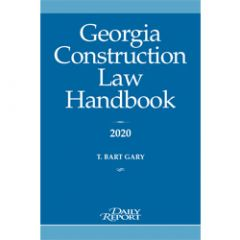 Georgia Construction Law Handbook
