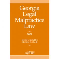Georgia Legal Malpractice Law