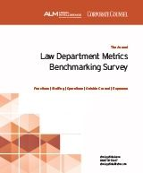 Law Department Metrics Benchmarking Survey