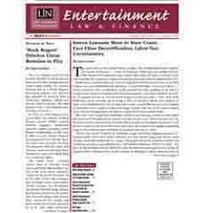 Entertainment Law & Finance