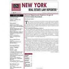 New York Real Estate Law Reporter