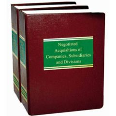 Negotiated Acquisitions of Companies, Subsidiaries and Divisions