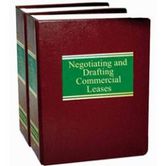Negotiating and Drafting Commercial Leases