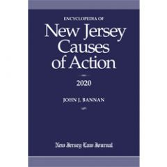 Encyclopedia of New Jersey Causes of Action