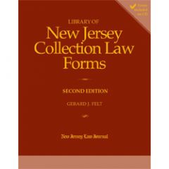 Library of New Jersey Collection Law Forms