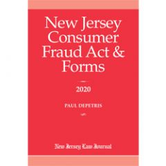 New Jersey Consumer Fraud Act & Forms