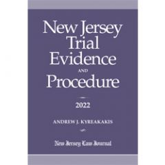 New Jersey Trial Evidence and Procedure