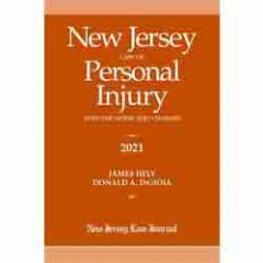 New Jersey Law of Personal Injury with the Model Jury Charges