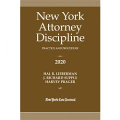 New York Attorney Discipline Practice and Procedure