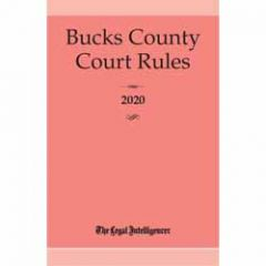Bucks County Court Rules (PA)