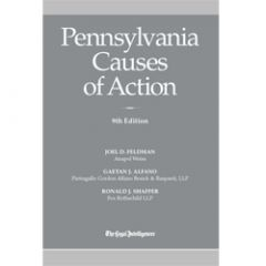 Pennsylvania Causes of Action