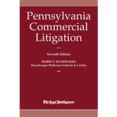 Pennsylvania Commercial Litigation