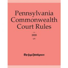Pennsylvania Commonwealth Court Rules