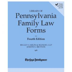 Library of Pennsylvania Family Law Forms