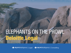 Elephants on the Prowl: Deloitte Legal