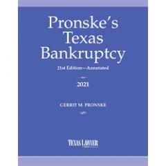 Pronske's Texas Bankruptcy