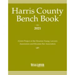 Harris County Bench Book