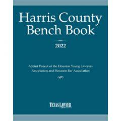 Harris County Bench Book