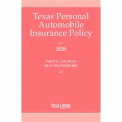 Texas Personal Automobile Insurance Policy