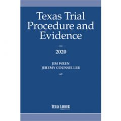 Texas Trial Procedure And Evidence