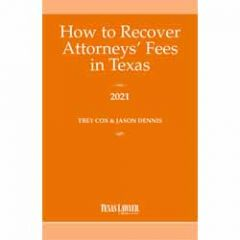 How to Recover Attorneys' Fees in Texas